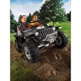 Power Wheels Fisher-Price Jeep Hurricane Ride On BLACK
