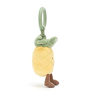 Jellycat Amuseable Pineapple Jitter Baby Car Seat Stroller Toy, 6 inches: Toys & Games