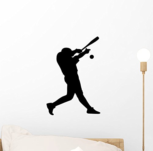 Strike One Baseball Wall Decal by Wallmonkeys Peel and Stick Graphic (12 in H x 8 in W) WM47613 ()