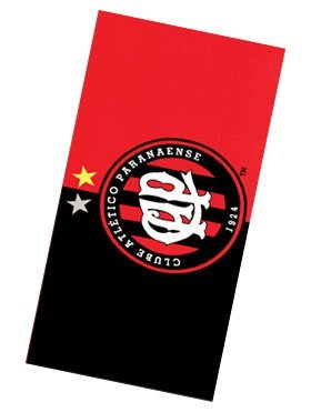 fan products of Clube Atletico Paranaense 01, Brazilian Soccer Team, Velour Beach Towel 30