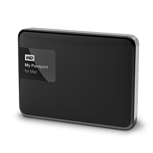 WD 3TB  My Passport for Mac Portable  External Hard Drive  - USB 3.0  - WDBCGL0030BSL-NESN