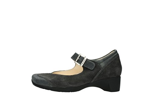 Opale 80210 Ladies Ascot Anthracite Leather Babette Wolky 1UgqfSww