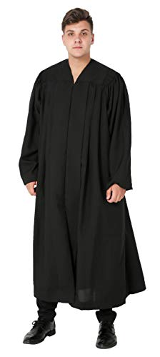 - Ivyrobes Unisex Adults Plymouth Clergy Robe Small Black 45