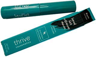 Thrive Causemetics Liquid Lash extensions mascara, Brynn rich black, TRAVEL SIZE 0.14 oz