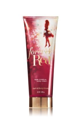 Forever Scented Body Lotion (Bath and Body Works Forever Red Luxury Body Cream 8 Ounce)