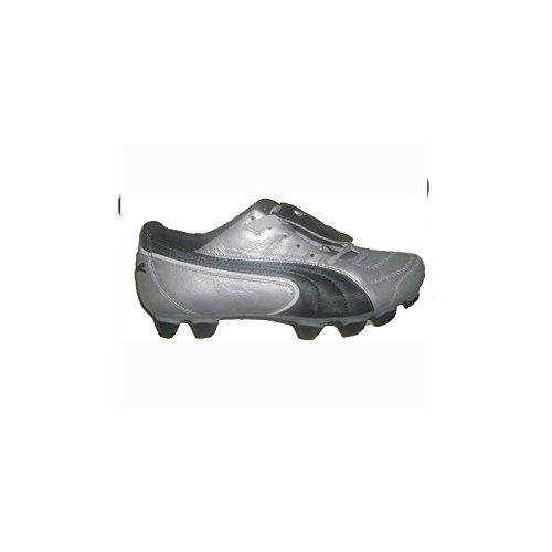 Chaussures Football Puma King FG Argent Cuir