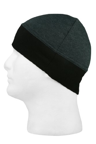 1 Ringer (Schampa Stretch Ringer Skullcap (Dark Grey, One Size))