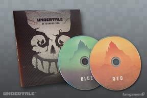Undertale Determination CD - Double Album