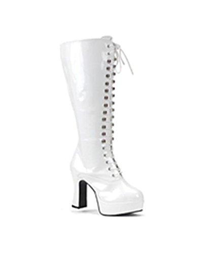 Women's Wide Width Platform Gogo Boot, 4 inch -