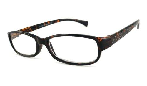 UPC 609613326097, UrbanSpecs Readers Reading Glasses Reading Glasses - R4960 Crystal Tortoise / TORTOISE