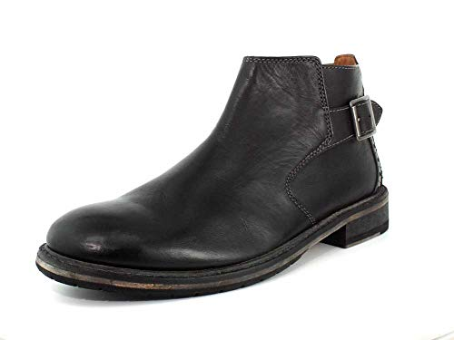 26136827 Black Men's Remi Clarkdale CLARKS Leather Boot dwx7d