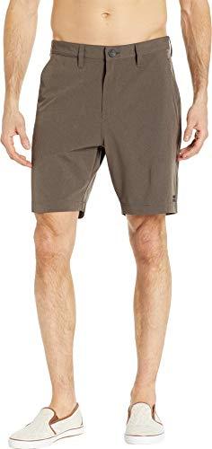 Billabong Men's Cross Fire X Hybrid Shorts Dark Earth 38 19