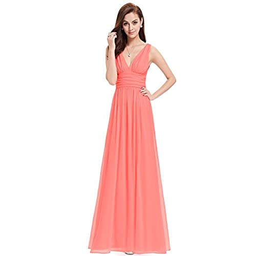 Coral Wedding Gowns: Women's Coral Dresses: Amazon.com
