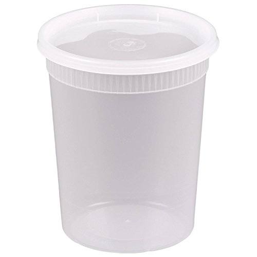 32 oz freezer containers - 1