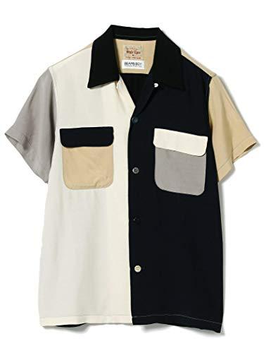 (빔스 보이)BEAMS BOY/반소매 셔츠 STYLE EYES × BEAMS BOY/볼링 셔츠 레이디스