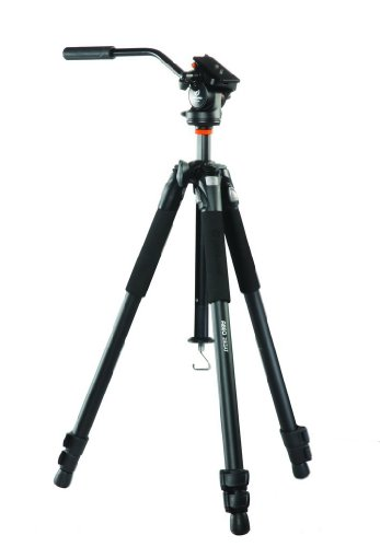 [Vanguard Abeo 283AV Tripod for Videography (Black)] (Vanguard Diecast Professional Tripod)