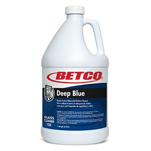 Deep Blue (Rtu)-ammoniated Glass and Surface Cleaner 4/1 Gallons