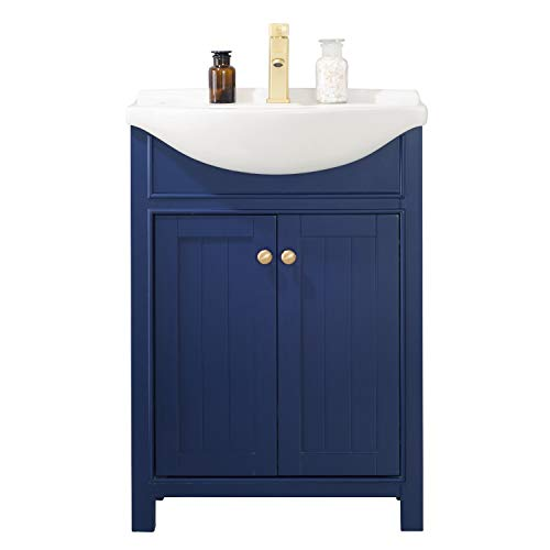 Top 10 best 24 bathroom vanity with sink blue 2020