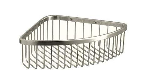 Polished Stainless KOHLER K-1896-S Medium Shower Basket