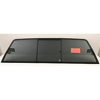 Fit 1988-1999 Chevrolet Pickup C3500 K3500 Rear Back Window Glass Stationary