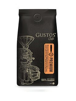 Gustos PREMIUM Coffee - SPECIALTY GRADE COFFEE from the best growers in Puerto Rico by Gustos Cafe - 12 Oz Bag - GROUND COFFEE (Count of 2)