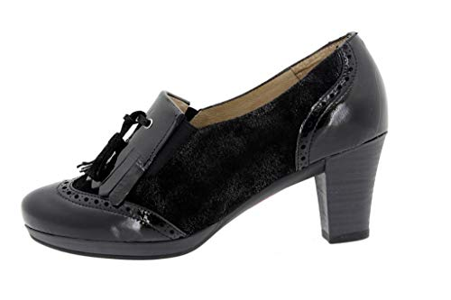 Char Mujer i Zapato 9310 Abotinado Cómodo 16 Negro Piesanto X7xxwUTq