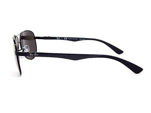 df529cd898e New Ray Ban Carbon Fibre RB8313 002 K7 Shiny Black   Grey Mirror ...