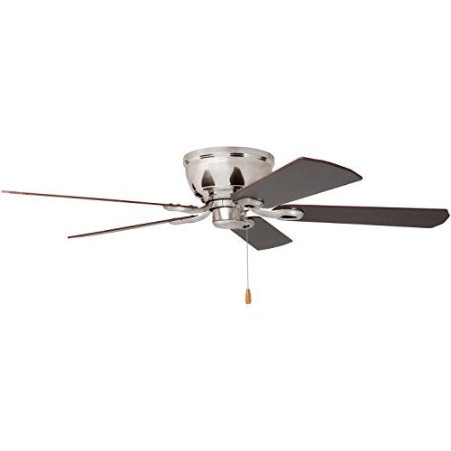 Prominence Home 80031-01 Woodmere Low-Profile Hugger Ceiling Fan with LED Bowl, 52 inches, Brushed Nickel by Prominence Home (Image #9)