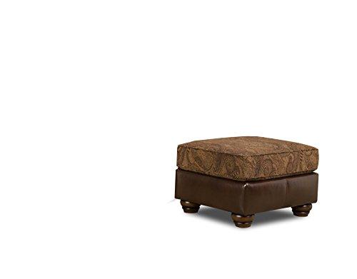 Simmons Upholstery 8104-09 Zephyr Aspen Ottoman For Sale