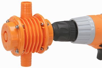 Heavy Duty Drill Powered Pump 650 GPH Water, Corrosion, Heat and Wear resistant