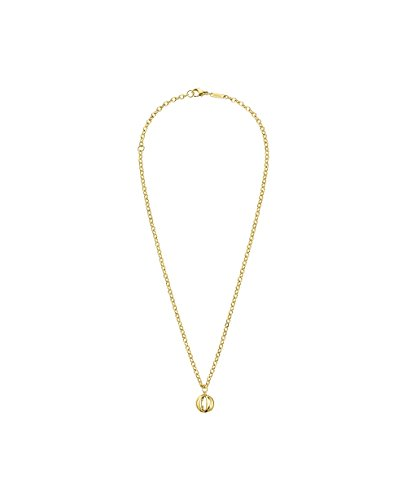 Calvin Klein Jewellery Ladies' PVD Gold plated SHOW NECKLACE 450MM - Klein Jewellery Calvin