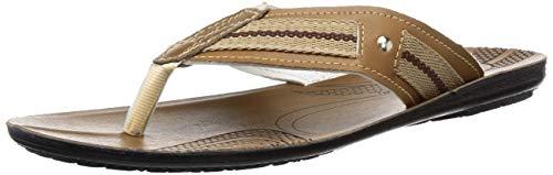 Paragon Men's Brown Thong Sandals – 9 UK/India (43 EU)(PU6736G)