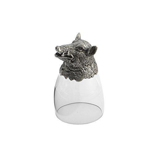 Arte Italica Animale Boar Liqueur Glass, Clear by Arte Italica