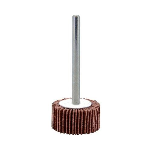 240 Grit 3//4 x 3//8 x 1//8 3//4 x 3//8 x 1//8 Aluminum Oxide Precision Abrasives 80-0398 Mini Flap Wheel