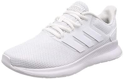 adidas Runfalcon Women's Running Shoe, Footwear White/Footwear White/core Black, 5.5 US