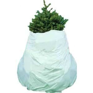 amazoncom santas best christmas tree removal bag 90