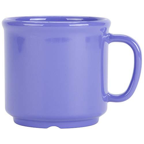 G.E.T. Enterprises S-12-PB Peacock Blue 12 oz.Mug, SAN (Pack of 12)