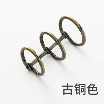 Bureze - Carpeta de anillas con bisagras para archivador de ...