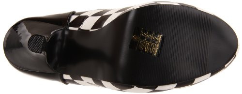 Funtasma HARLEQUIN-03 Damen Pumps, Blk-Wht Pat-Checkers, 37 EU / 7 US