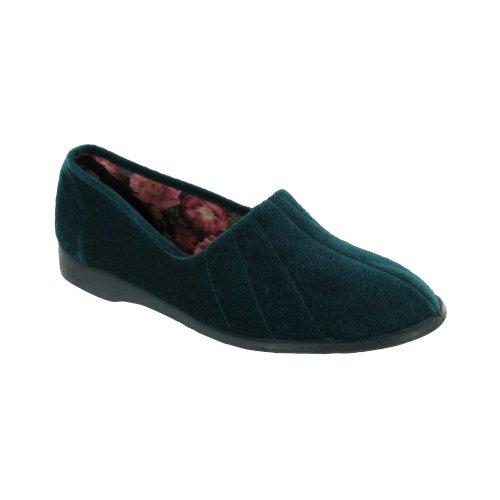 Grandi Inglesi Full Audrey On Slippers Navy Slip Pantofole Ladies rwYaqr5
