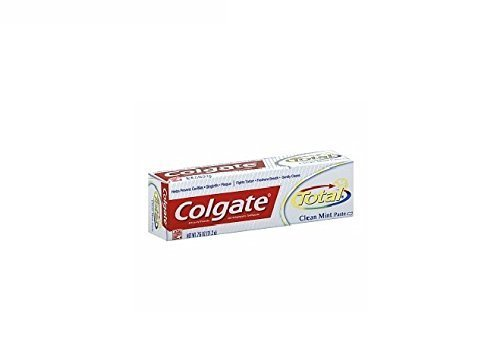 Colgate Total 12 Hour Multi-Protection Toothpaste, Travel Size, Original 0.75 oz (21 g) by AB