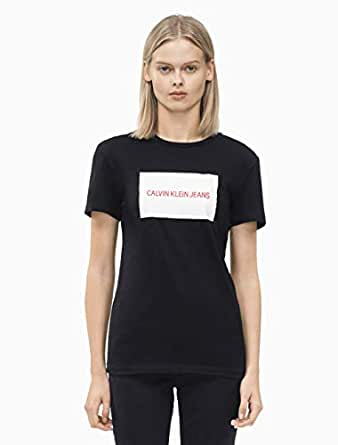 Calvin Klein T-shirt for women in Black, Size:Large