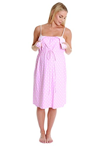 766afaff075ab Baby Be Mine 3 in 1 Labor/Delivery/Nursing Hospital Gown Maternity, Hospital