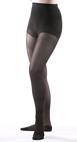 Allegro 15-20 mmHg Essential 15 Sheer Support Closed Toe Compression Pantyhose