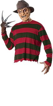 Freddy Krueger Costume Accessory Kit - Standard - Chest Size 44