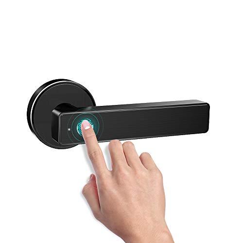 Smart Biometric Fingerprint Handle Door Lock