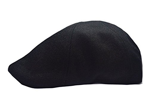 Mens Winter Fall 100/% Wool 14 Patch Duckbill Ivy Driver Cabby Cap Hat
