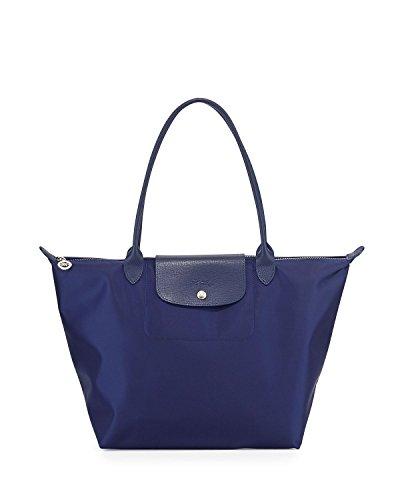 Blu Marino Donna Tote Longchamp Borsa Itq7xFwwv