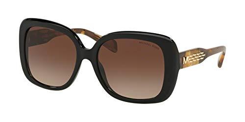 Michael Kors KLOSTERS MK2081 Sunglasses 300513-56 - Black Frame, Smoke Gradient ()