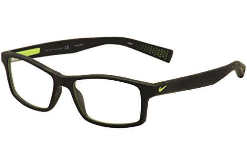 NIKE Eyeglasses 4259 001 Black/Volt 52MM